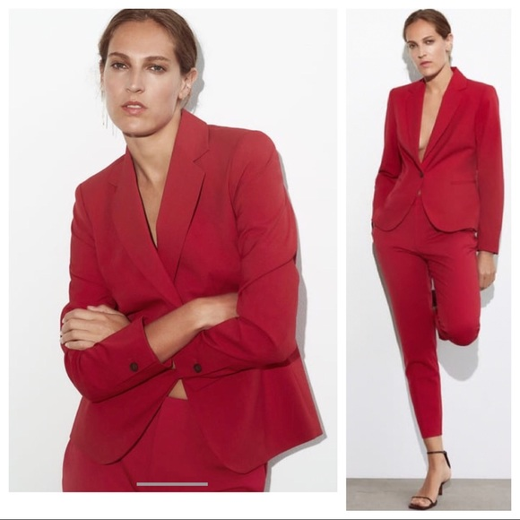 NWT: ZARA FITTED SUIT JACKET